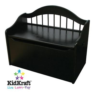 KidKraft Limited Edition Toy Box - Black 14181 - Peazz.com