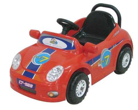 CTM Kids Mini Single Rider Roadster Red - Peazz.com