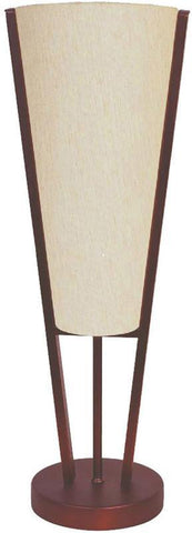 Dainolite 1 Lite Oil Brushed Bronze Table Lamp Beige Linen Shade 83322-OBB - Peazz.com