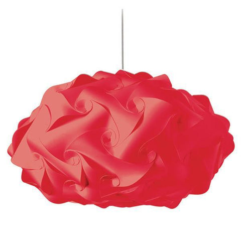 Dainolite DBL-FLT-795 3 Light Globus Squash Jtone Red - Peazz.com