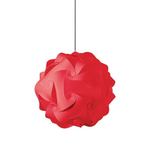 Dainolite DBL-M-795 1 Light Globus Medium JTone Red - Peazz.com