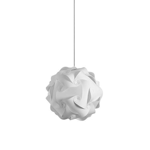 Dainolite DBL-S-790 1 Light Globus Small JTone White - Peazz.com