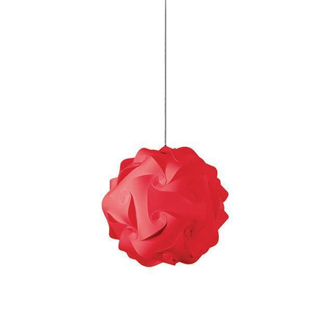 Dainolite DBL-S-795 1 Light Globus Small JTone Red - Peazz.com
