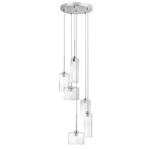 Dainolite IC-106P-PC 6 Light Round Pendant - Peazz.com