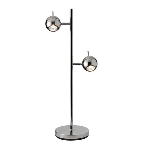 Dainolite TK12T-PC 2 Light Table Lamp Spot - Peazz.com