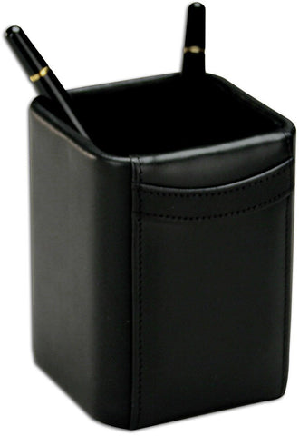 Square Leather Pencil Cup A1010 by Decasso - Peazz.com