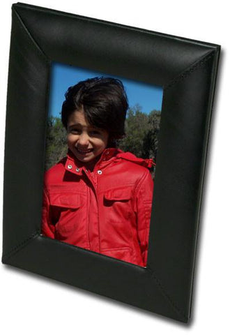 Leather 4x6 Photo Frame A1017 by Decasso - Peazz.com