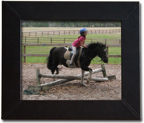 Leather 8x10 Photo Frame A1036 by Decasso - Peazz.com