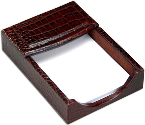 Crocodile Embossed 4x6 Memo Holder A2009 by Decasso - Peazz.com