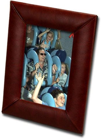 Leather 4x6 Photo Frame A3017 by Decasso - Peazz.com