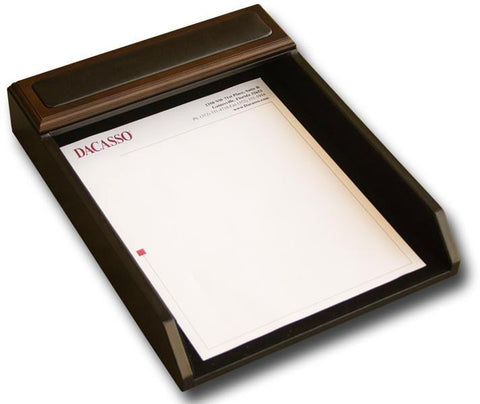 Wood Front-Load Letter Tray A8401 by Decasso - Peazz.com