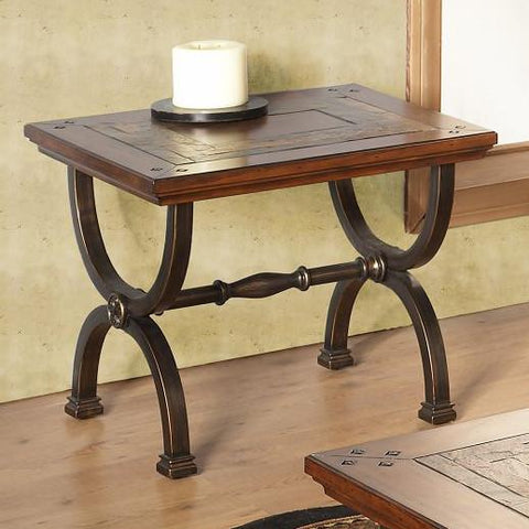 Alpine 425-02 End Table - Peazz.com