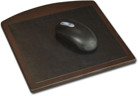 Wood & Leather Mouse Pad A8414 by Decasso - Peazz.com