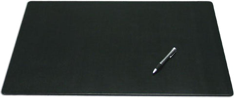 Leather 24x19 Desk Pad without Side Rails P1019 by Decasso - Peazz.com