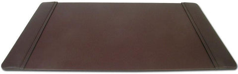 Leather 34x20 Desk Pad with Side Rails P3401 by Decasso - Peazz.com