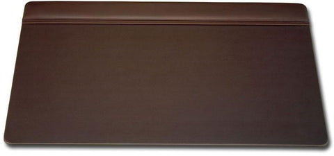 Leather 34x20 Top-Rail Desk Pad P3421 by Decasso - Peazz.com