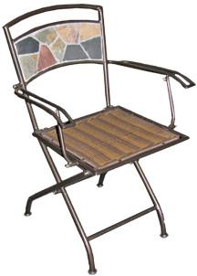 Deeco Consumer Products DM-10191 Rock Canyon Folding Chairs - Peazz.com