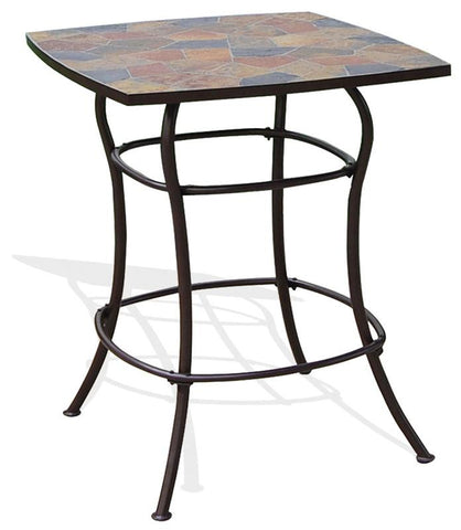 Deeco Consumer Products DM-1340A Rock Canyon Bar Table - Peazz.com