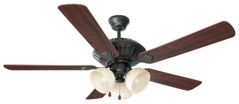 "Design House 154120 Trevie 52"" Ceil Fan 3Lt Orb Ep Oil Rubbed Bronze - Peazz.com"