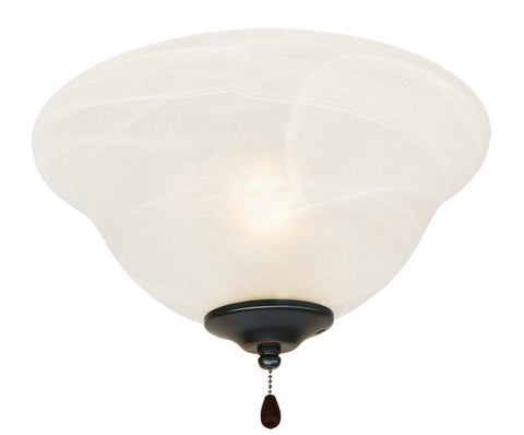 Design House 154211 Ceiling Fan Light 3Light/Bowl With Alab Oil Rubbed Bronze - Peazz.com