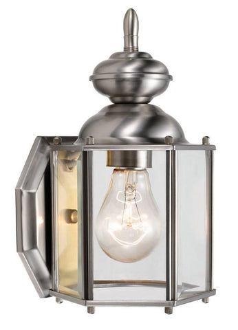 Design House 514877 514877 Augusta Outdoor Downlight Sn Satin Nickel - Peazz.com