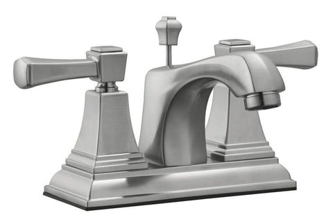 "Design House 521997 Torino 4"" Lavatory Faucet Satin Nickel - Peazz.com"