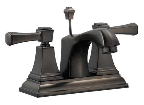 "Design House 522003 Torino 4"" Lavatory Faucet Brushed Bronze - Peazz.com"