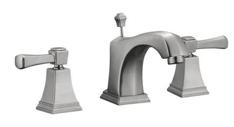 Design House 522052 Torino Wide Lavatory Faucet Satin Nickel - Peazz.com