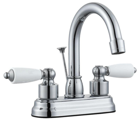 "Design House 522136 Westmoor 4"" Lavatory Faucet Polished Chrome - Peazz.com"