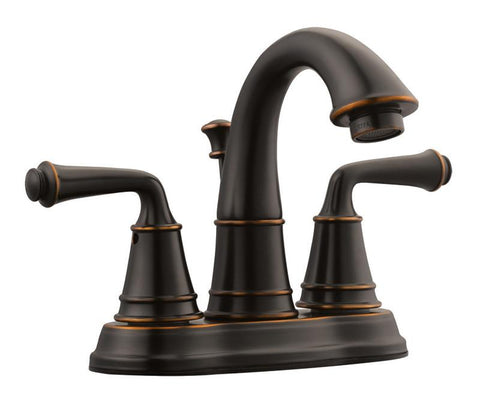 "Design House 524538 Eden 4"" Lavatory Faucet Oil Rubbed Bronze - Peazz.com"