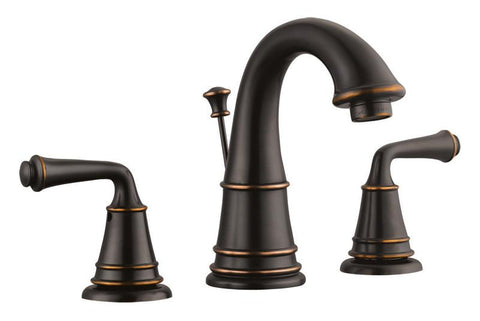 Design House 524579 Eden Wide Lavatory Faucet Oil Rubbed Bronze - Peazz.com
