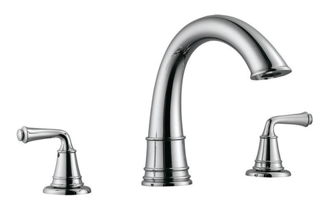 Design House 524595 Eden Roman Tub Faucet No/Sprayer Satin Nickel - Peazz.com