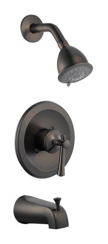 Design House 524686 Ironwood Tub and Shower Faucet Brushed Bronze - Peazz.com
