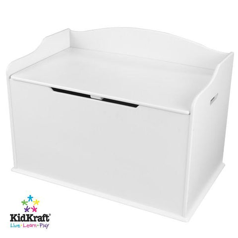 KidKraft Austin Toy Box - White 14951 - Peazz.com