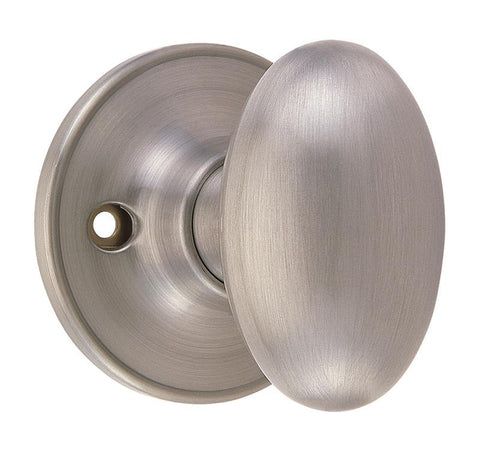 Design House 750620 Egg/Dummy/ Box Satin Nickel - Peazz.com