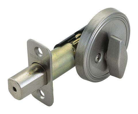 Design House 750836 Deadbolt/Ss/ Box Satin Nickel - Peazz.com