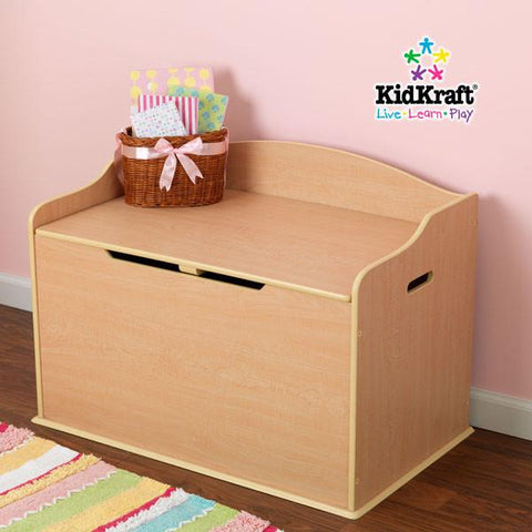 KidKraft Austin Toy Box - Natural 14953 - Peazz.com