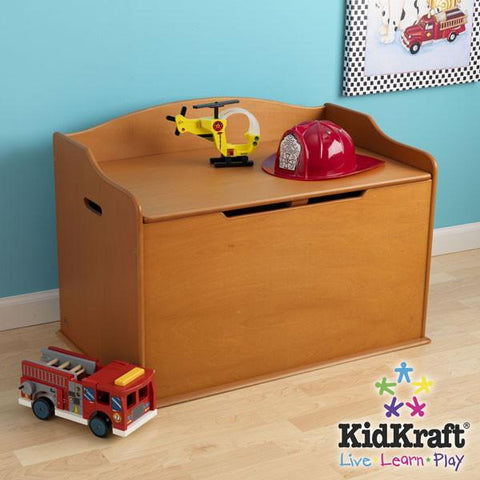 KidKraft Austin Toy Box - Honey 14954 - Peazz.com