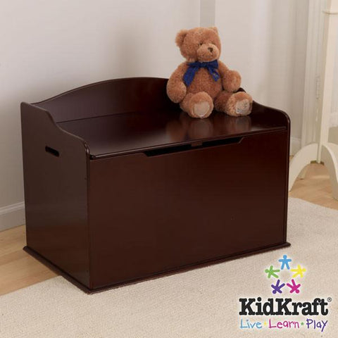 KidKraft Austin Toy Box - Cherry 14955 - Peazz.com