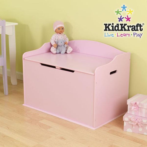 KidKraft Austin Toy Box - Pink 14957 - Peazz.com