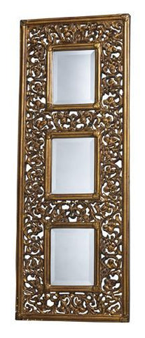 Dimond DM1923 Rickland Mirror In Stewartstown Gold - Peazz.com