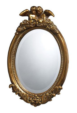 Dimond DM1928 Bronville Mirror In Antique Gold Leaf - Peazz.com