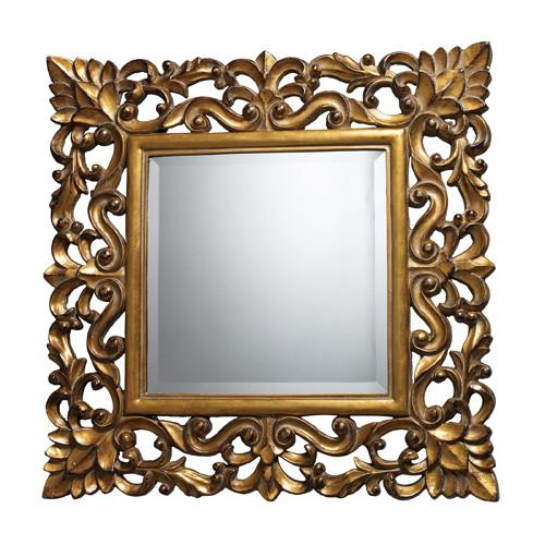 Dimond DM1929 Barrets Mirror In Beaufort Gold