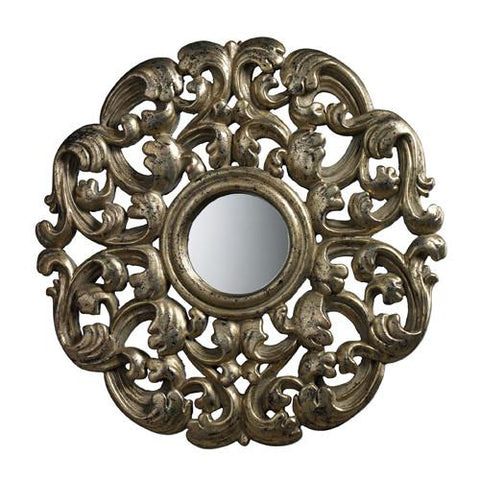 Dimond DM1932 Lanne Mirror In Blackwood Silver - Peazz.com