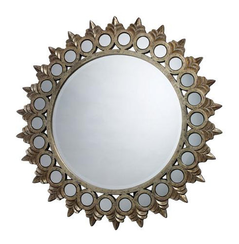Dimond DM1937 Porterdale Mirror In Rosebery Gold - Peazz.com
