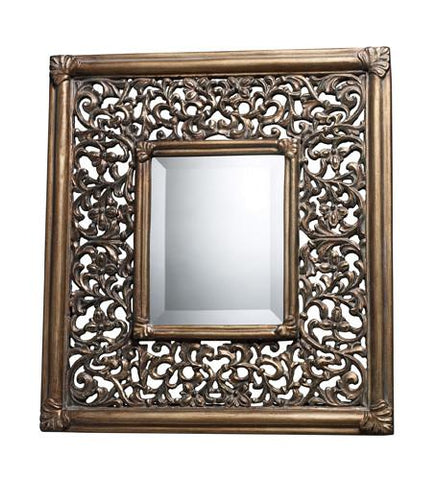 Dimond DM1939 Collingswood Mirror In Ravenhill Gold - Peazz.com
