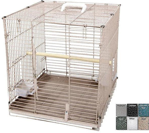 "A&E Cage BC1819 Black 18"" x 19"" - Folding Travel Carrier - Peazz.com"