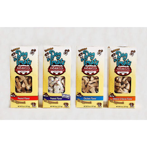 4 - 8 oz Boxes of All Natural Baked Dog Treats - Peazz.com