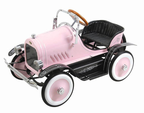 Dexton DX-20136 Deluxe Pink Roadster Pedal Car - Peazz.com