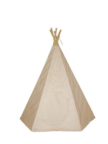 Dexton DX-2075 7.5' Powwow Lodge Round Door Teepee (6 Panel) - Peazz.com